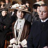 Elizabeth McGovern y Hugh Bonneville en 'Downton Abbey'