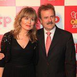 María Rey y Manuel Campo Vidal en los TP de Oro 2010