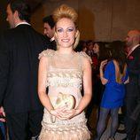 Luján Argüelles en el cóctel de los TP de Oro 2010