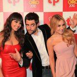 Cristina Pedroche, Dani Mateo y Berta Collado