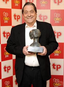 Sancho Gracia, TP de Oro Especial por su trayectoria profesional