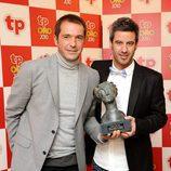 Manu Carreño y Nico Abad, ganadores del TP de Oro