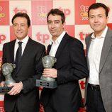 El equipo de 'Antena 3 Noticias 2' en los TP de Oro