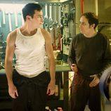 Ulises (Mario Casas) y de la Cuadra (Luis Callejo) en 'El barco'