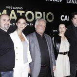 Juana Acosta, Pepe Sancho y Alicia Borrachero