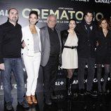 Equipo de la serie 'Crematorio' de Canal+