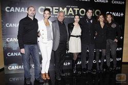 Equipo de la serie \'Crematorio\' de Canal+