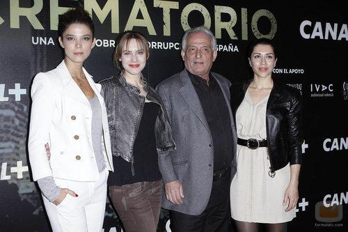 Juana Acosta, Aura Garrido, José Sancho y Alicia Borrachero