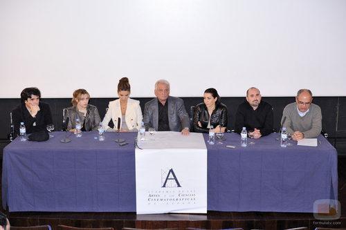 Presentación de la serie 'Crematorio'