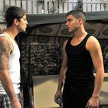 Culebra habla con Ángel