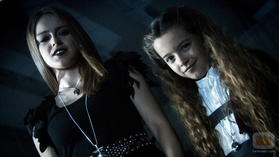 Iris y Duna en 'Ángel o demonio'