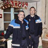 Ferrán Rañé y Álex O'Dogherty, los policías de 'Doctor Mateo'