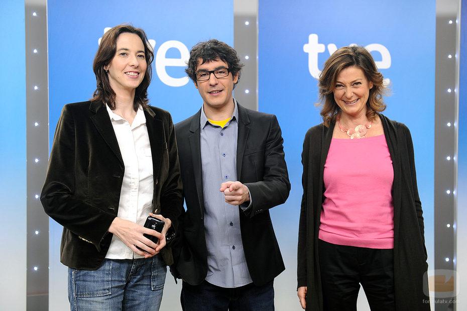 María Maicas, Juanra Bonet y Montse Abbad