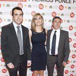 Luis Fraga, Sandra Golpe y Javier Alba también acudieron al evento de