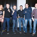 Nira Juanco, Antonio G. Ferreras, Antonio Lobato, Marc Gené, César G. Antón y Jacobo Vega