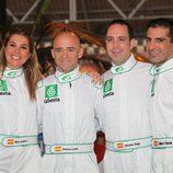 Nira Juanco, Antonio Lobato y Jacobo Vega junto a Marc Gené