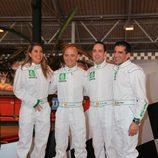 Nira Juanco, Antonio Lobato, Jacobo Vega y Marc Gené