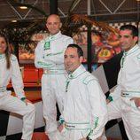Equipo de retransmisiones: Nira, Antonio, Jacobo y Marc