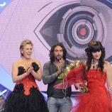 Ángel felicita a Laura por su victoria en 'GH12'