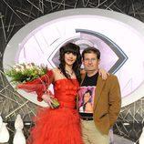 Laura Campos y su padre Marceliano