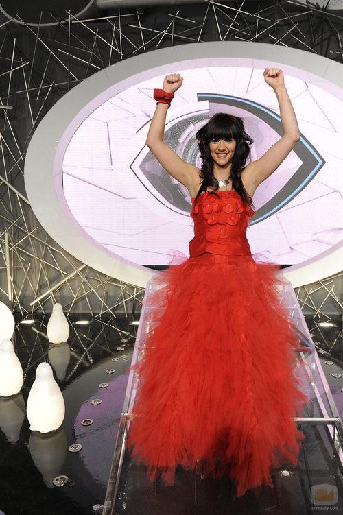 Laura celebra su victoria en 'Gran hermano 12'