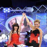 Mercedes Milá coronó a Laura como ganadora