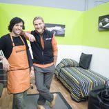 Kristian Pielhoff y su invitado en 'Bricomania'