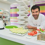 Bruno, presentador de 'Cocina con Bruno Oteiza'