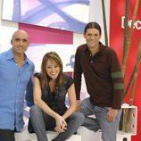 Los tres presentadores de 'Decogarden'
