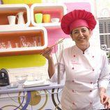 La cocinera Eva Arguiñano