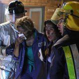 Patricia O'Farrell y Teresa Mendoza, rescatadas tras un incendio