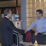 Tito Valverde en la serie de Telecinco 'El Comisario'