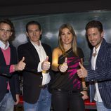 Andy Soucek, Javier Rubio, Nira Juanco y Miguel Serrano Olivares