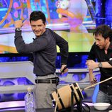 Orlando Bloom bromea con Pablo Motos