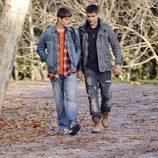 Culebra y Ángel en 'Los protegidos'