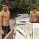 Maxi Iglesias y Luis Fernández 'Perla' sin camiseta
