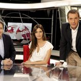 Manolo Lama, Sara Carbonero y Manu Carreño