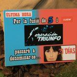 Tras la fusión de Telecinco y Cuatro, 'Operación triunfo' pasará a denominarse...