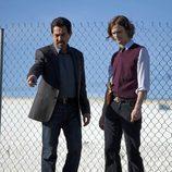 David Rossi (Joe Mantegna) y Dr. Spencer Reid (Matthew Gray Gubler)