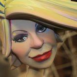 Ninot de Karmele en las Fallas 2011