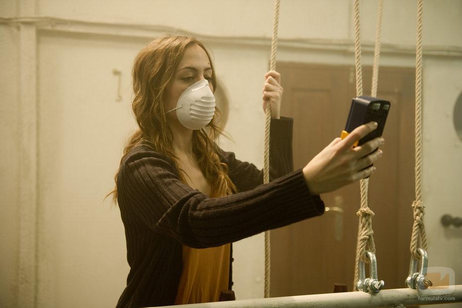 Julia Wilson comprueba la contaminación de la niebla