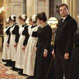 El servicio de la familia Crawley, en 'Downton Abbey'