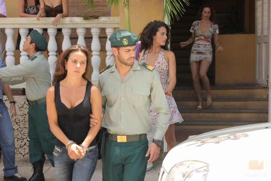Teresa Mendoza, detenida por la Guardia Civil