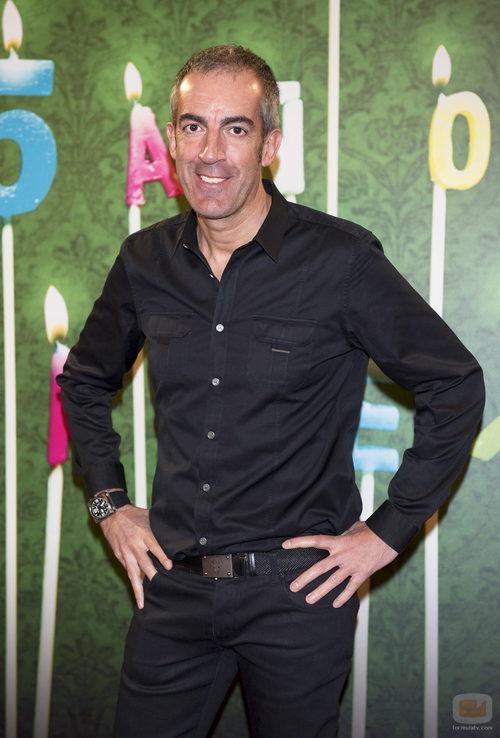 Patxi Alonso, presentador de 'Minuto y resultado'