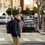 Culebra cruzando la calle