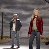Holly Hunter y Leon Rippy, protagonistas de 'Salvando a Grace'