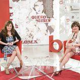 Carmen Morales y Concha Velasco en 'Cine de barrio'