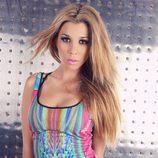 Natalia con un colorido body