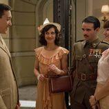 Dieguito Ferrán, Isabel, Hugo y Beatriz