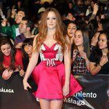 Ana María Polvorosa con sus fans